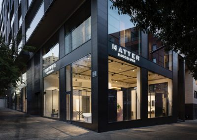 Matter – Ceramics and Bathrooms Showroom Renovation